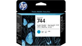 Консуматив HP 744 Standard 1-Pack Original Ink Cartridge; Photo Black + Cyan ;  ; HP DesignJet Z2600, Z5600
