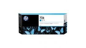 Консуматив HP 728 Standard 1-Pack Original Ink Cartridge; Cyan ;  ; HP DesignJet T730, T830