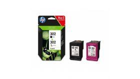 Консуматив HP 302 Combo 2-Pack Original Ink Cartridge; Black/Tri-color;  Page Yield 190/165; HP DeskJet 1110; HP OfficeJet 3830; 2130;  4520;