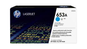 Консуматив HP 653A Original LaserJet cartridge; cyan; 16500 Page Yield ; 1 - pack; HP Color LaserJet Enterprise MFP M680