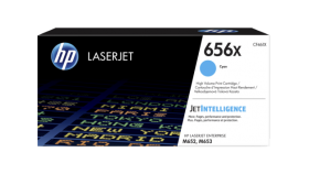 Консуматив HP 656X  Original LaserJet cartridge ; Cyan ; 22000 Page Yield ; HP Color LaserJet Enterprise M652 / M653