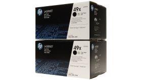 Консуматив HP 49X Original LaserJet cartridge; black; 6000 Page Yield ; 2 - pack; LJ 1320/LJ 3390 / LJ 3392aio