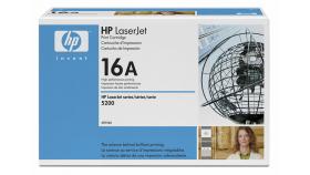 Консуматив HP 16A Original LaserJet cartridge; black; 12000 Page Yield ; 1 - pack; LJ 5200