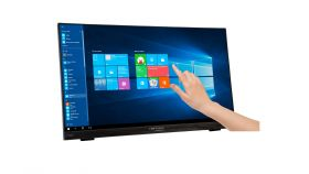 "HANNS.G HT225HPB Touch Тъч монитор 21.5""W  LED, 1920x1080 178/178 10-Point-Touch VGA DP HDMI Audio Black"