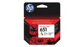 Консуматив HP 651 Original Ink Cartridge; Tri-Color;  Page Yield 300; HP DeskJet Ink Advantage 5575; 5645; HP OfficeJet 202 Mobile Printer; 252