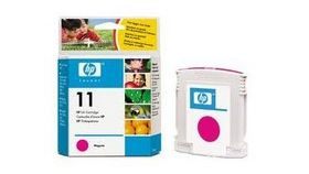 Консуматив HP 11 Standard Original Ink Cartridge; Magenta;  Page Yield 2000; HP InkJet 1700; 9110; 9120; 9130;K850;1000;1100; 1200; 2200;  2250; 2280; 2300; 2600;2800
