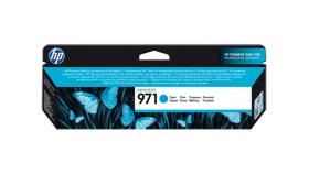 Консуматив HP 971 Standard Original Ink Cartridge; Cyan;  Page Yield 2500; HP OfficeJet Pro X451; X551