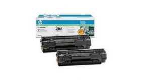 Консуматив HP 36AD Original LaserJet cartridge; black; 2000 Page Yield ; 2 - pack; LJ M1120MFP/P1505/M1522MFP