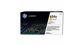 Консуматив HP 654A Original LaserJet cartridge; yellow; 15000 Page Yield ; 1 - pack; HP Color LaserJet Enterprise M651