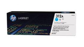 Консуматив HP 312A Original LaserJet cartridge; cyan; 2700 Page Yield ; 1 - pack; HP LaserJet Pro 400 color MFP M476