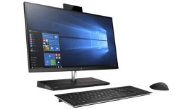 """HP Elite One 1000 G1 AiO Non Touch Intel® Core™ i7-7700 with Intel® HD Graphics 630 (3.6 GHz base frequency, up to 4.2 GHz with Intel® Turbo Boost Technology, 8 MB cache, 4 cores)  16 GB DDR4-2400 SDRAM (1 x 16 GB) 1 TB PCIe® NVMe™ SSD HDD (27"""") diag"""