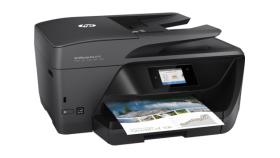 Принтер HP OfficeJet Pro 6970 All-in-One Printer  A4; A5; A6; B5; Index card A; Envelopes;DL 1200 x 600 dpi 20 ppm 10 ppm DL HP PCL 3 GUI; HP PCL 3 Enhanced USB 2.0; 802.11b/g/n  WLAN; RJ-11 ADF scan 1 200 x 1 200 dpi+ З Години Безплатна Гаранция при