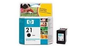 HP 21 Black Inkjet Print Cartridge (5 ml), HP PSC 1410, HP DJ 3940