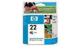 HP 22 Inkjet Print Cartridge, tri-colour (5 ml), HP PSC 1410, HP DJ 3940