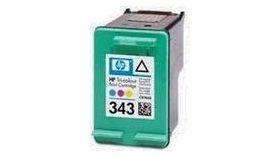 HP No. 343 Tri-colour Inkjet Print Cartridge (7ml)