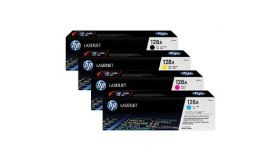 HP 128A Yellow LaserJet Print Cartridge