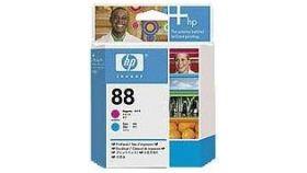 HP 88 Magenta and Cyan Printhead