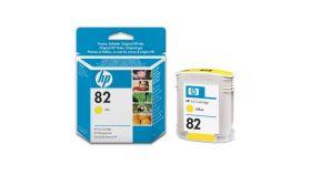 HP No 82 Касета цветна, 69 ml. (HP DesignJet 500/800 printer series), Yellow