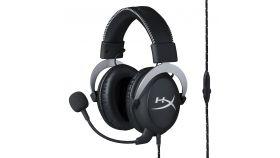 Геймърски слушалки HyperX, Cloud Silver, Микрофон, Черен