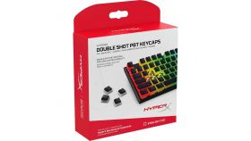 Капачки за механична клавиатура HyperX Pudding Black Double Shot PBT Keycap Set upgrade kit