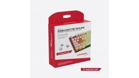 Капачки за механична клавиатура HyperX Pudding White Double Shot PBT Keycap Set upgrade kit