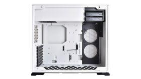 Chassis In Win 101 Mid Tower,ATX,Micro-ATX,Mini-ITX, Tempered Glass,Front Ports 2xUSB 3.0 HD Audio, Dimension 445x220x480mm,1x120mm Rear Fan/120 mm Radiator 2x120mm Side Fan/240mm Radiator,3x120mm Bottom Fan/360mm Radiator,white