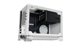Chassis In Win A1 Mini ITX Tower, Tempered Glass, Transperant Stand with RGB lighting, Wireless Charging Station, included In Win 600W PSU 80 PLUS Bronze, VGA Card Length: 320mm, CPU Heatsink Height :160mm, white
