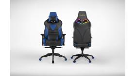 Геймърски стол INAZA Achilles M1 L черно-син