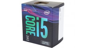 Процесор Intel Coffee Lake Core i5-8400 2.8GHz (up to 4.00GHz ), 9MB, 65W LGA1151 (300 Series)