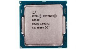 Процесор Intel Pentium G4500, 3.50 GHz, 3M Cache, ,51W, LGA1151, Intel HD Graphics 530, Tray
