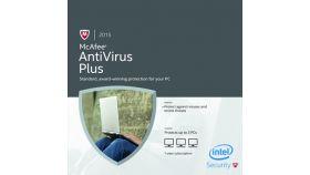 Антивирусен софтуер McAfee Antivirus Plus лиценз за една година