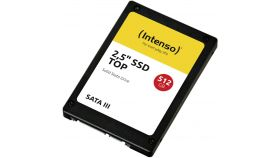 """Solid State Drive (SSD) Intenso TOP, 2.5"""", 512 GB, SATA3"""