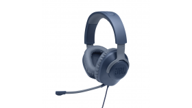Геймърски слушалки JBL Quantum 100 Blue