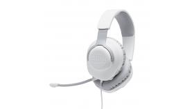 Геймърски слушалки JBL Quantum 100 White