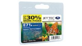 ГЛАВА ЗА EPSON D78/DX4000/DX4050/DX4450/DX5000/DX5050/DX6000/DX6050 - Black - T0711 JetTec