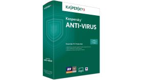 софт. Kaspersky Antivirus KAV 3PC 1 Year BOX - Кутия  /44056/
