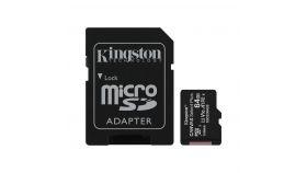 KINGSTON 64GB micSDXC Canvas Select Plus 100R A1 C10 Card + ADP