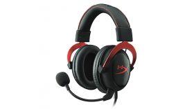 Геймърски слушалки с микрофон HyperX Cloud II Red