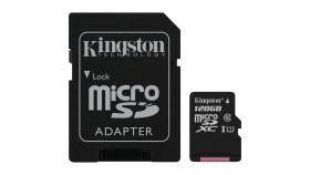 Kingston 128GB micSDXC Canvas Select Plus 100R A1 C10 Card + ADP EAN: 740617298703