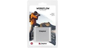 KINGSTON Workflow SD Reader; Interface: - USB 3.2 Gen 1; Connector: USB-C