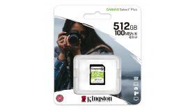 Карта памет Kingston Canvas Select Plus SD 512GB, Class 10 UHS-I