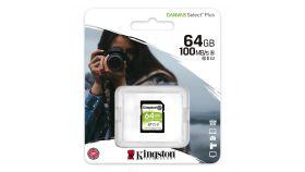 Карта памет Kingston Canvas Select Plus SD 64GB, Class 10 UHS-I