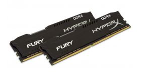 Памет Kingston HyperX Fury 32GB (2x16GB) DDR4 PC4-25600 3200Mhz CL18 HX432C18FBK2/32