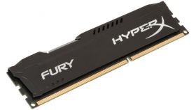 Памет Kingston HyperX Fury Black 4GB DDR3 PC3-12800 1600MHz CL10 HX316C10FB/4