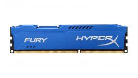 Памет Kingston HyperX Fury Blue 4GB DDR3 PC3-12800 1600MHz CL10 HX316C10F/4