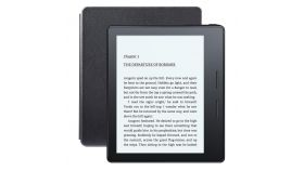 "eBook четец Kindle Oasis, 6"", 4GB, 8-та генерация, Черен"