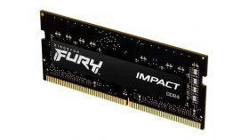 KINGSTON 8GB 2666MHz DDR4 CL15 SODIMM FURY Impact