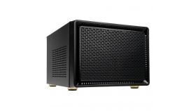 Кутия Kolink Satellite Cube, Mini-ITX, Micro-ATX, Черен