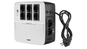 UPS Legrand Keor Multiplug 600VA/360W, Single phase, Line Interactive Technology- VI, Simulated SineWave,Cold Start Function,USB charger -  Type A female/5 V, Outlet-6xGerman Standard, Quantity of internal batteries - 1pc 12V 7.2Ah, Internal AVR.