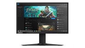 "Lenovo Y27g 27"" FullHD (1080p) VA Curved Gaming Monitor 16:9 4ms, 144H nVIDIA G-sync, 300cd/m2, HDMI, Display Port, Height Adjustment, Black"